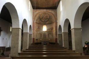 Petersberg Kirche innen